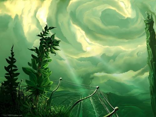green-bird-travel-fantasy